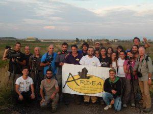 I Soci ARDEA partecipanti al World Shorebirds Day