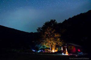 La notte al campo Migrandata Matese